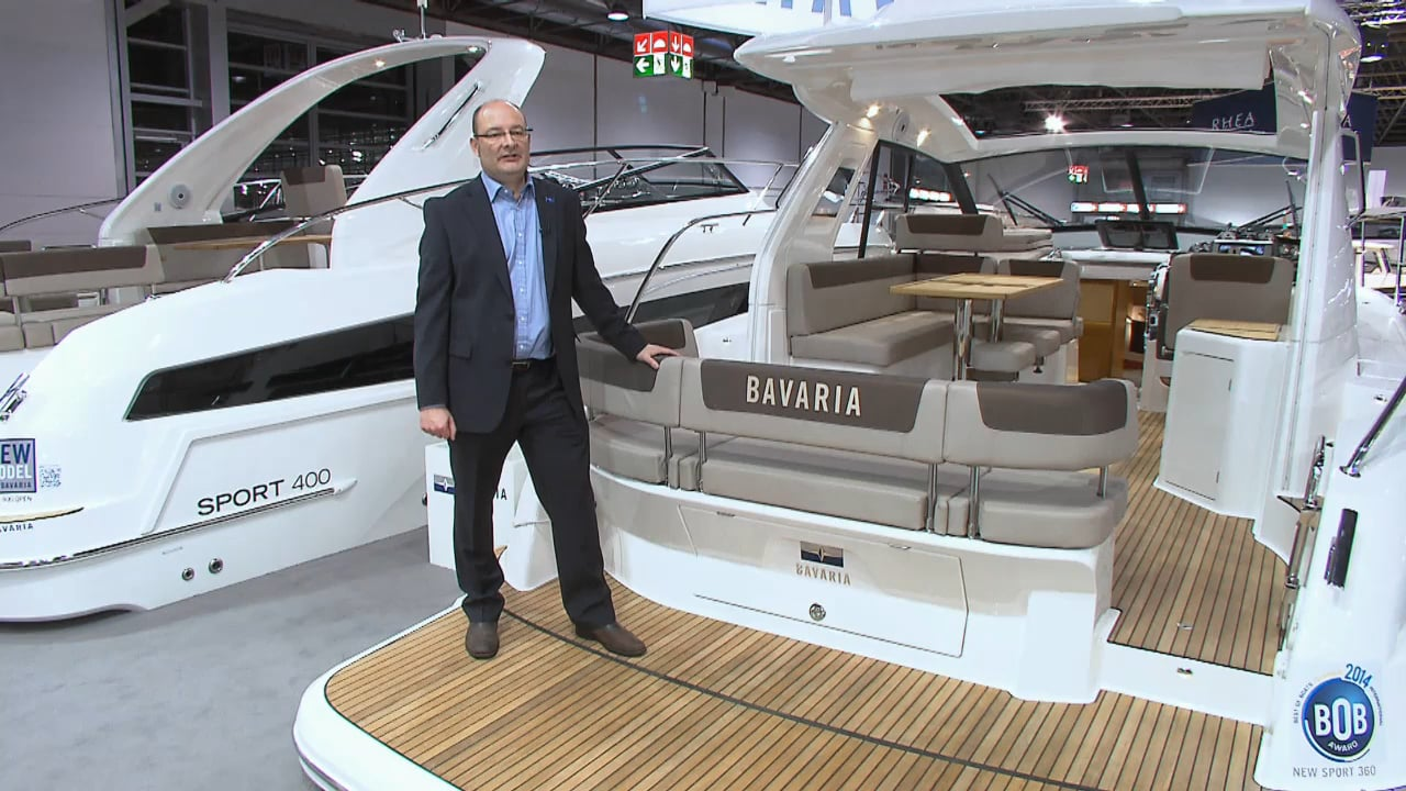 bavaria sport 400 product introduction aqua tv. Black Bedroom Furniture Sets. Home Design Ideas