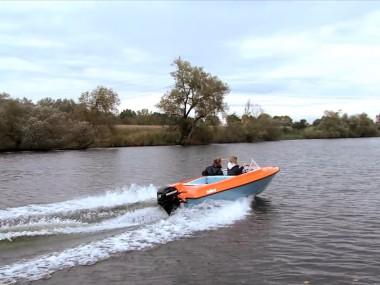 Wassersport für Anfänger – Mit 15PS führerscheinfrei durch Deutschland – Vimeo thumbnail