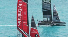Grandiose Segelaction beim Americas Cup